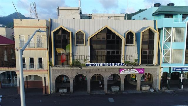 Property For Sale: Sprott Bros Plaza Kingstown Ref SBLKC140