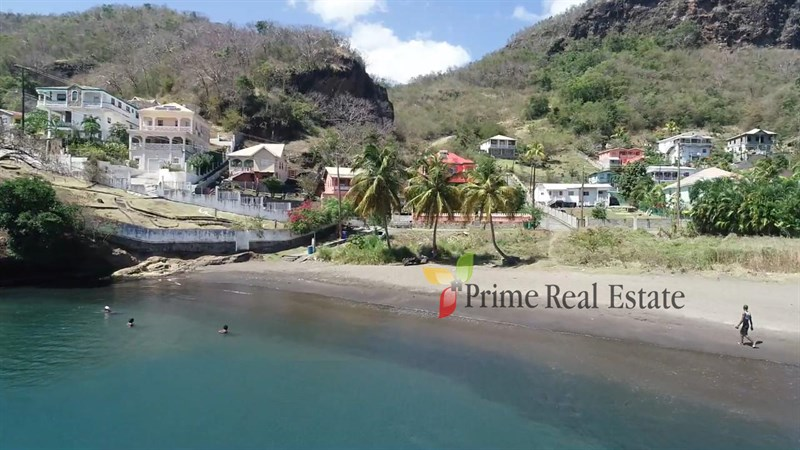 Property For Sale: Beachfront Land For Sale Jackson Bay Layou Ref CHJBLP
