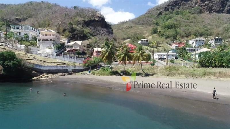 Property For Sale: Beachfront Land For Sale Jackson Bay Layou Ref CHJBLP